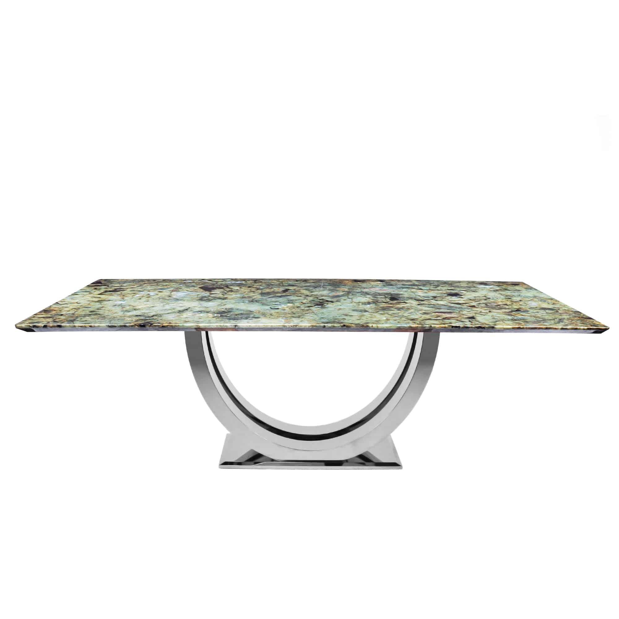 Miraculous Decasa Rectangular Granite Dining Table Blue Jade Gamerscity Chair Design For Home Gamerscityorg