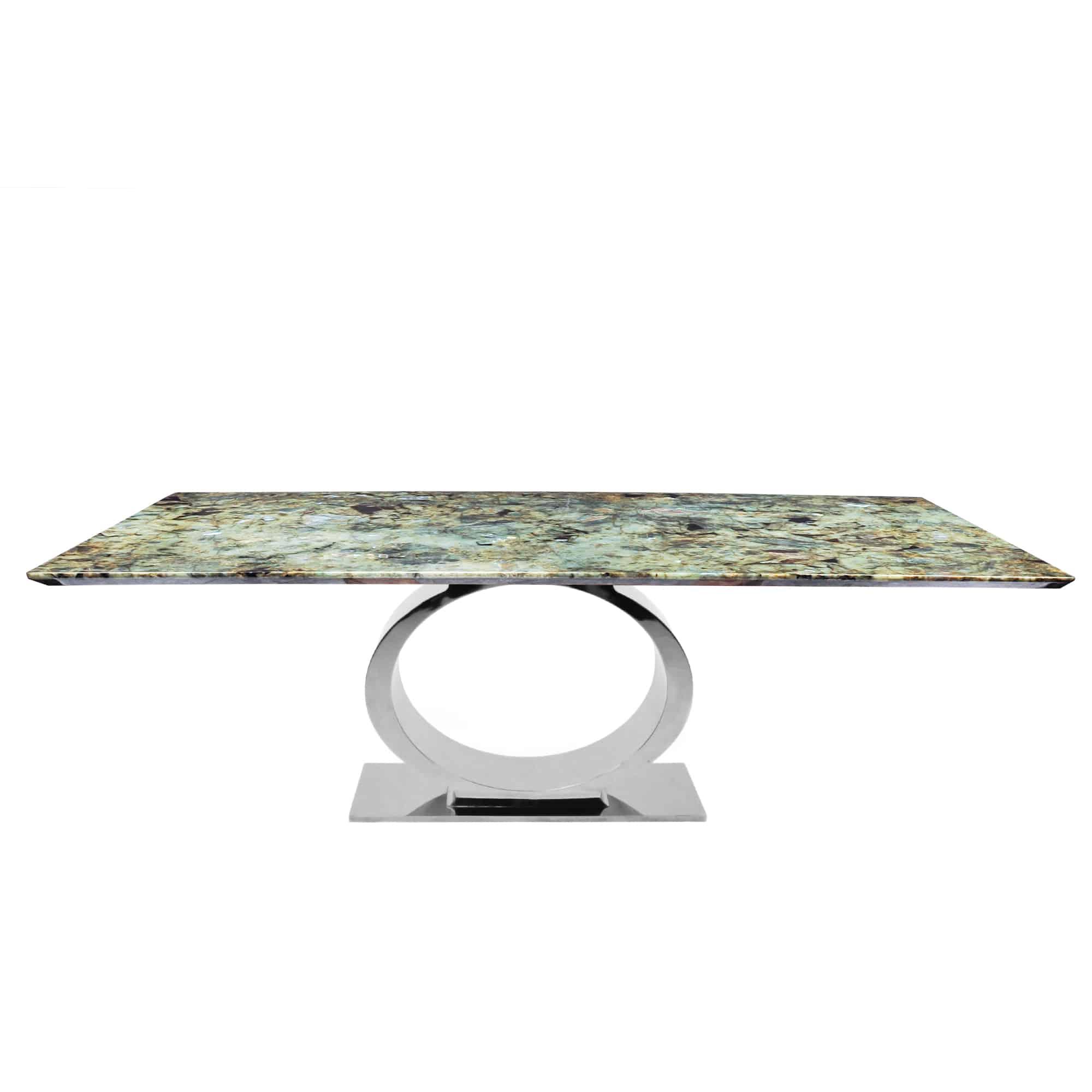 Strange Decasa Rectangular Granite Dining Table Blue Jade Gamerscity Chair Design For Home Gamerscityorg